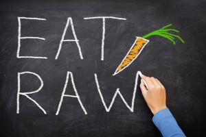 Raw food nutritionist London