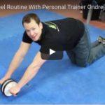 3-min Ab Wheel Routine