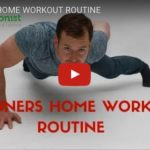Beginners' home workout routine