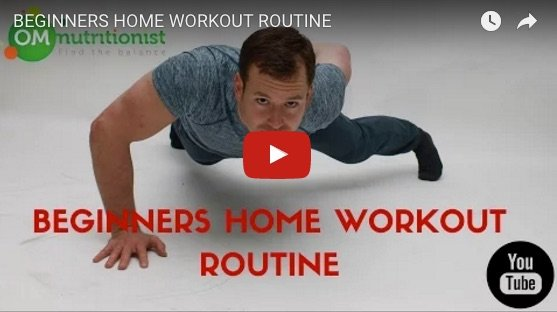 Beginner home workout