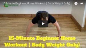 Beginner Home Workout
