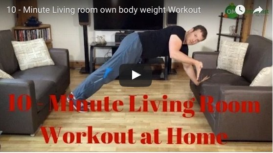 Living Room Workout at Home