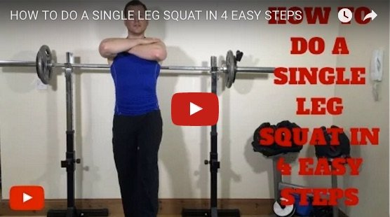 One legged Squats