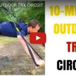 10-minute outdoor TRX workout