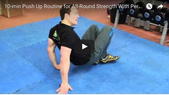 Push up routine for strength